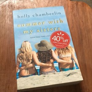 Summer with my sisters by Holly Chamberlin book